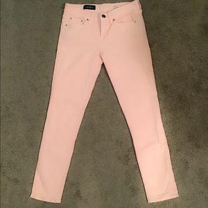 J.Crew Light Pink Toothpick Jeans